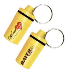 Bayer Aspirin Keychain