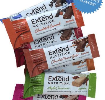 Extend Gluten-Free Nutrition Bars