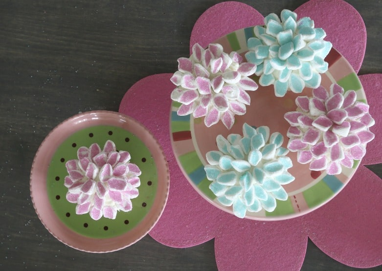 Finished Cupcakes on Plate