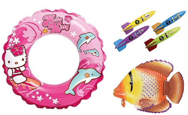 Summer Toys for Pool and Outdoors
