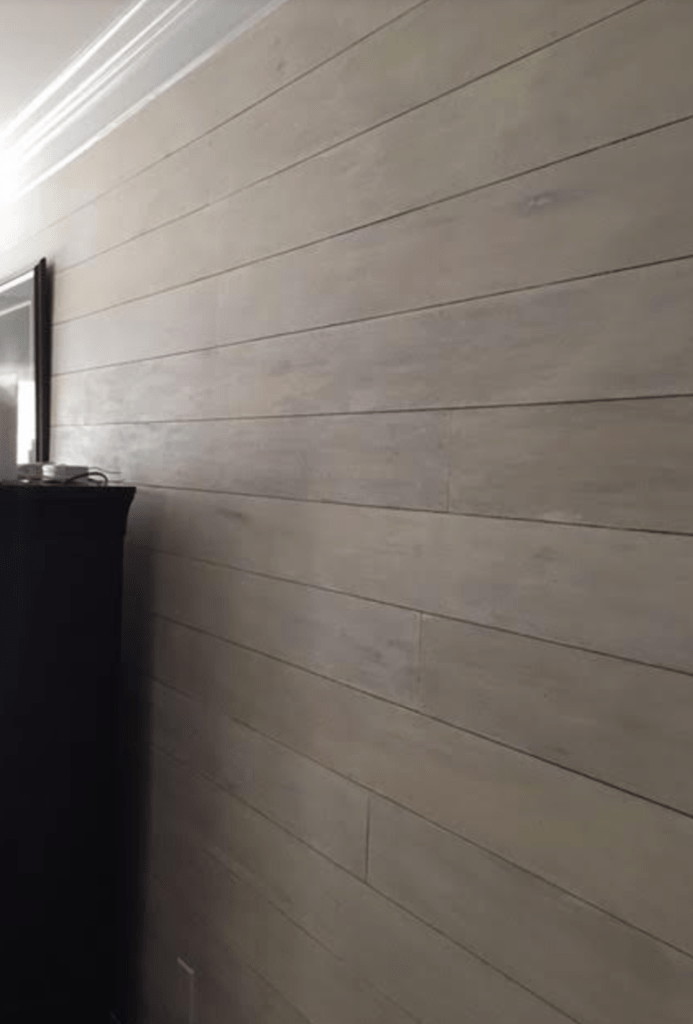 How to Shiplap Cheap