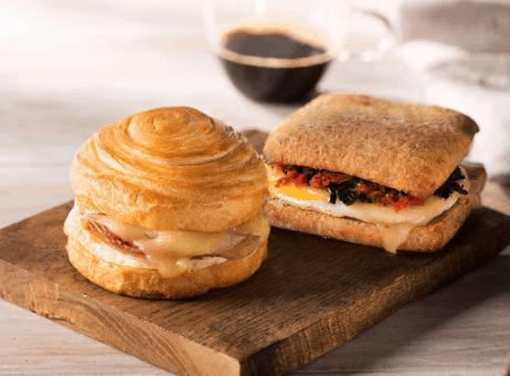 Starbucks Pastries Warm Sandwiches