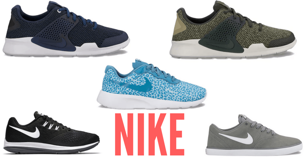 Kohl's NIKE Clearance - Shoes 50% OFF!