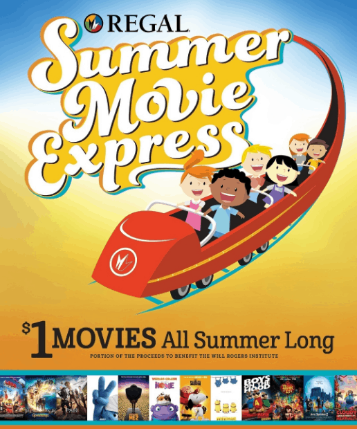 regal kids summer movie program