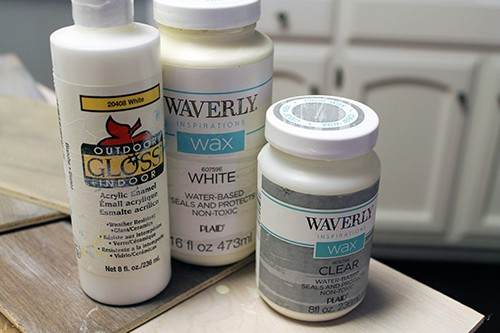 Using Wax Paint