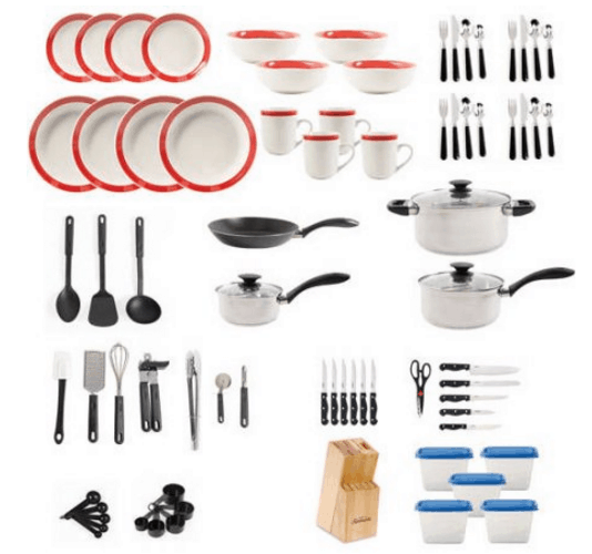 Total Home Set for College - Great Graduation Gift Ideas