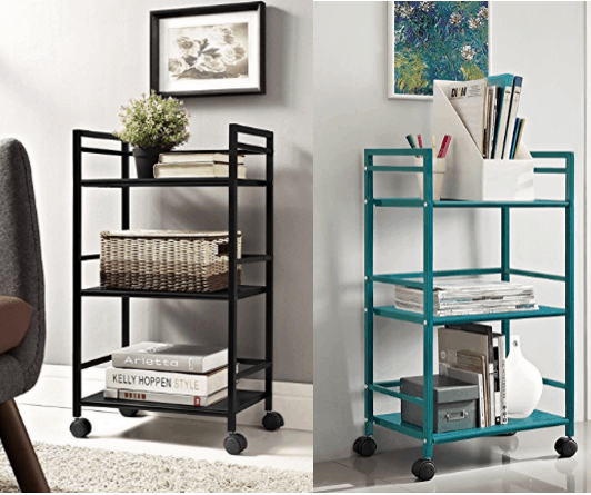 Storage carts for college dorms