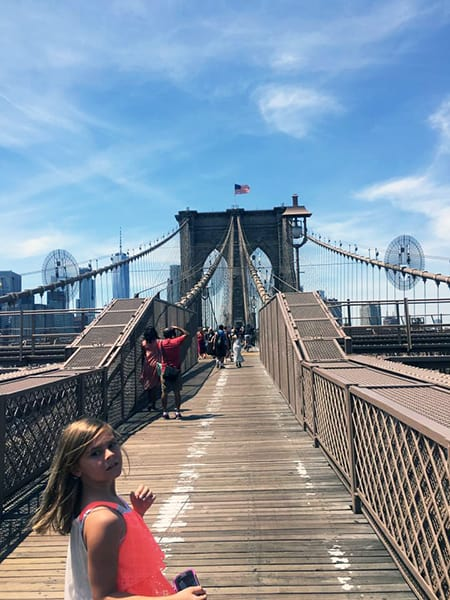 NYC Travel Tips - Visit the Brooklyn Bridge