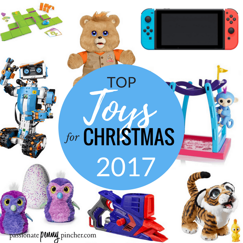 top toys christmas for 2017