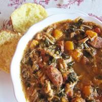 Crock-tober Day 16 - Slow Cooker Chicken & Sausage Stew