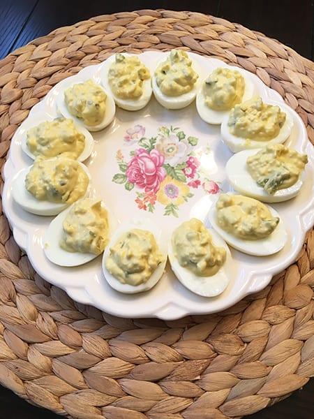 Deviled Eggs for Thanksgiving