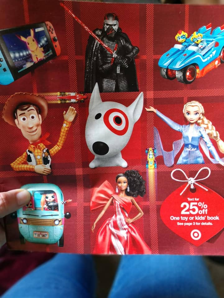 new target toy book for 2019 holiday season