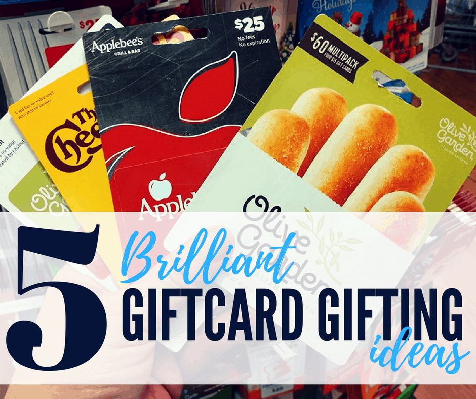 Worried giving a giftcard will be too impersonal? De-stress your holiday with these 5 genius gift card giving ideas to make your recipient feel special!