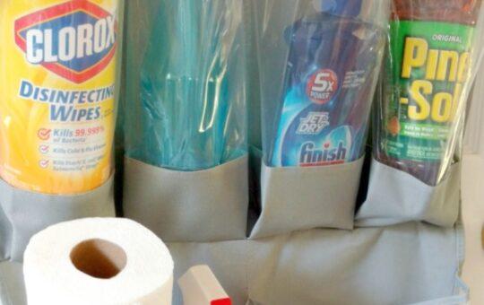 Cleaning Supplies Organizer