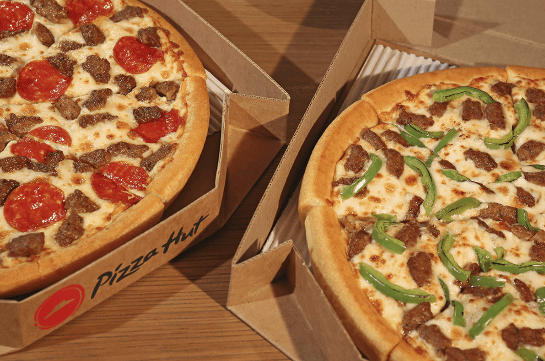 Pizza Hut Medium 3 Topping Pizzas Just 6