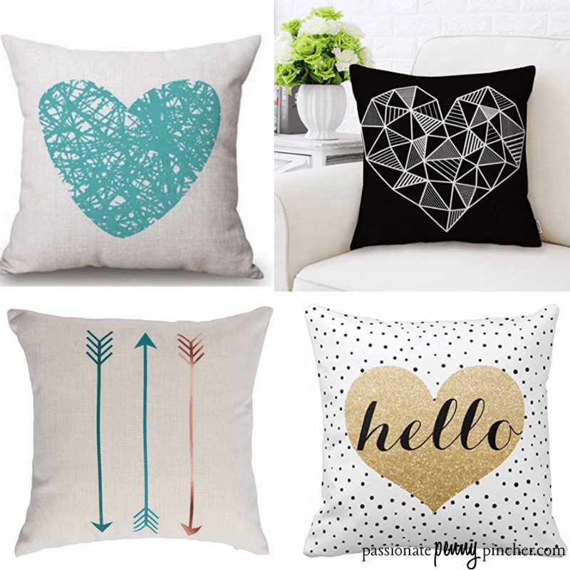 Let a little love into your home with some cute Valentine's Day decorative pillow covers on Amazon!