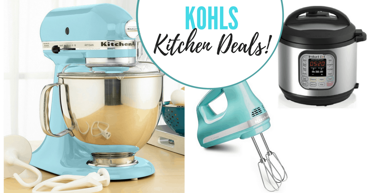 Kohl S Kitchenaid Stand Mixer And Instant Pot Steals