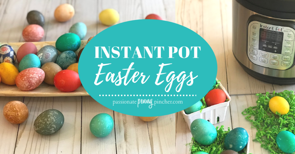I was curious if you could make Easter Eggs in the Instant Pot... so I gave it a try. Well my Instant Pot Easter Eggs turned out beautifully!