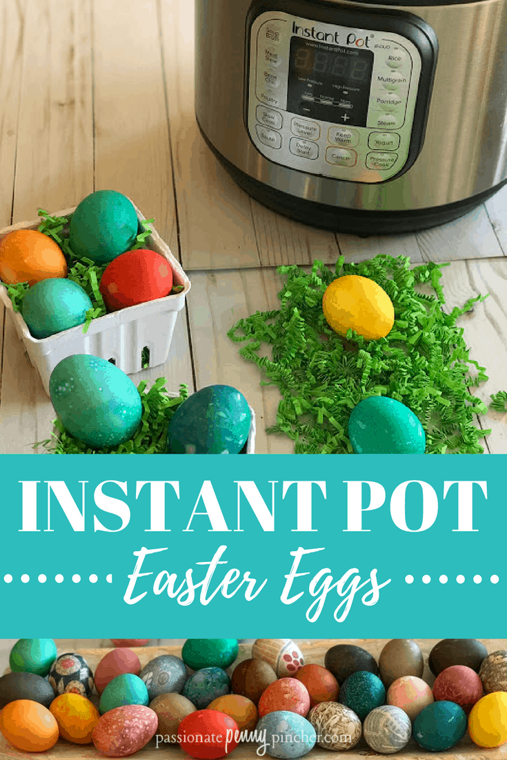 Instant Pot Hard Boiled Eggs with Easter Egg Dye