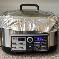 What To Do When Your Ham (or Turkey) is TOO Big for Your Crockpot!