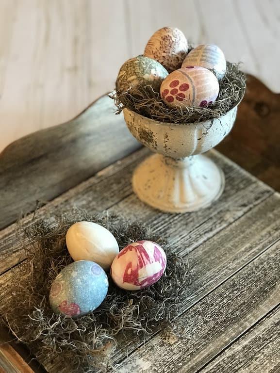 Silk Tie easter Eggs