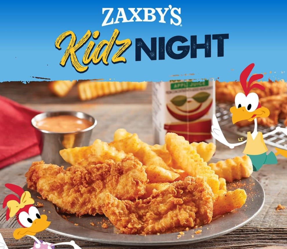 Zaxby's Deals for Kids