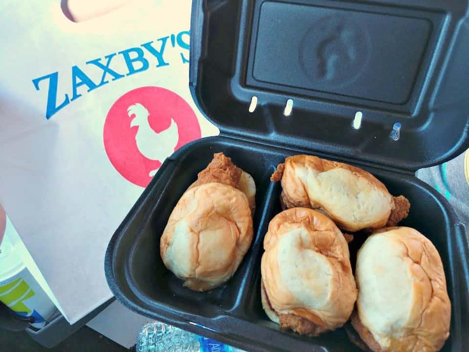 Zaxby'x Chicken Sandwiches