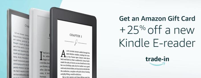 Amazon Trade In E-Reader