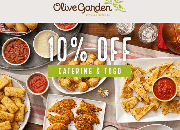 Olive Garden Coupon For Togo Orders