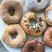 EASY Air Fryer Donuts from Biscuit Dough! (4 Kinds)