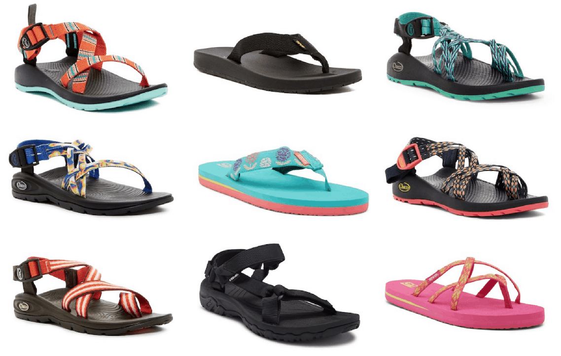 Up to 50% Off Teva and Chaco Sandals!