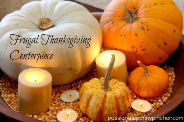 Thanksgiving Centerpieces for Fall Decor