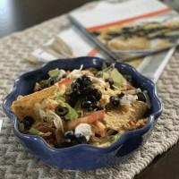 Slow Cooker Chicken Nachos: Crocktober Day 2