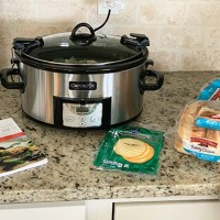 Slow Cooker Cheeseburger Soup & Philly Cheesesteak Sandwiches