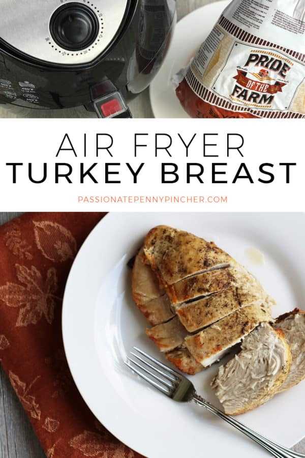 Learn how to make the EASIEST Air Fryer Turkey Breast, just in time for Thanksgiving!