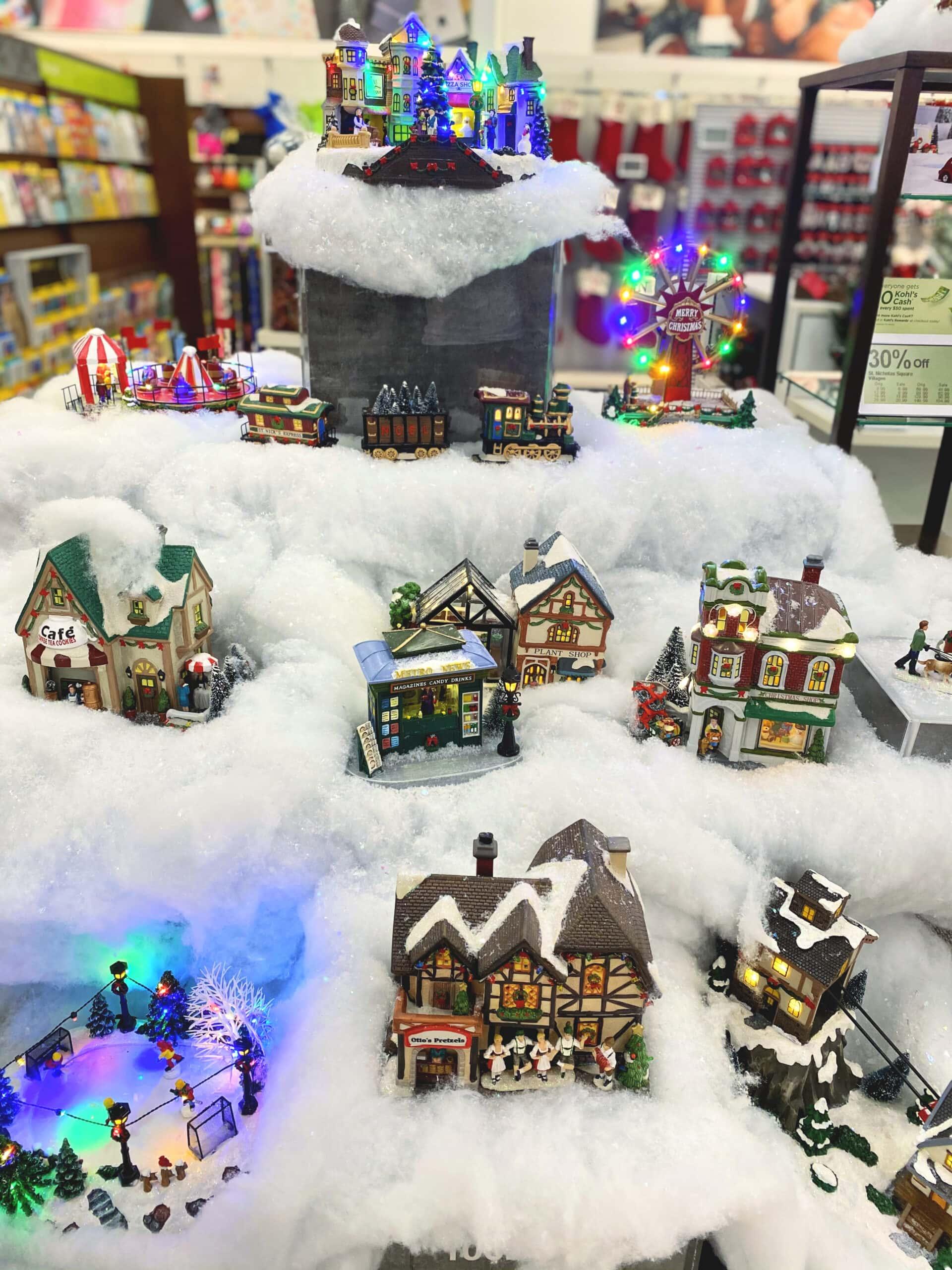 kohl's christmas village