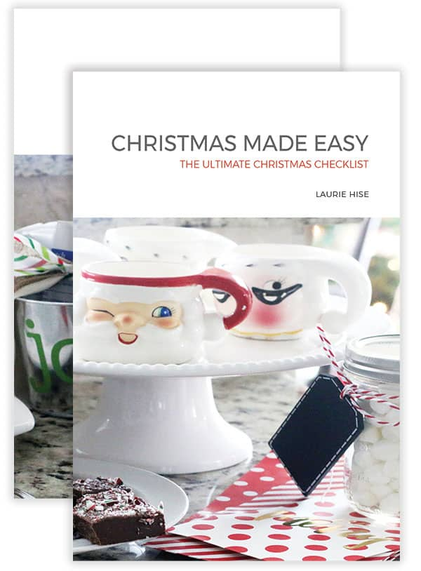 Everything you need to make Christmas EASY this year! The ultimate Christmas checklist!
