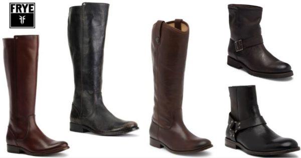 FRYE Boots on Sale - HUGE SAVINGS on