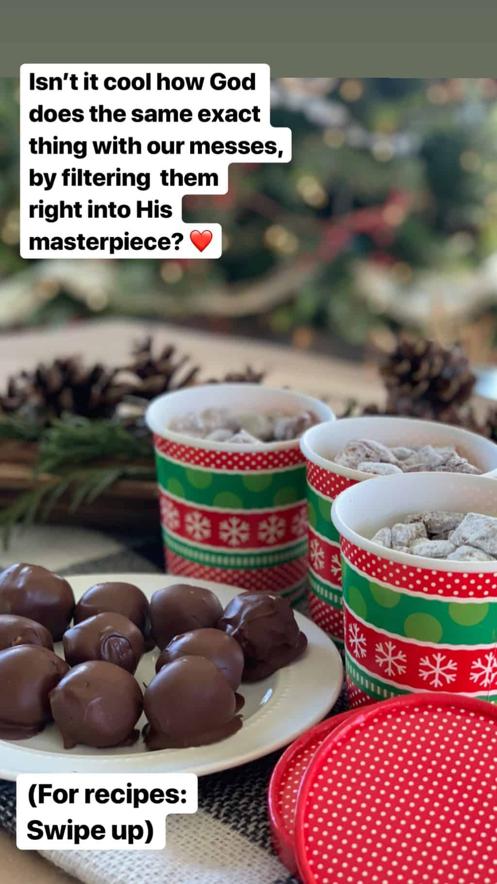 Christmas Treats instagram