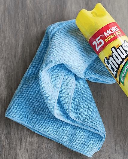 Microfiber Cloth Towel with Endust