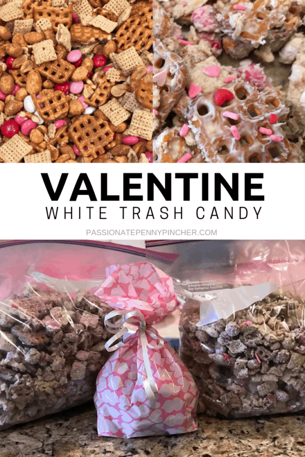 Valentine White Trash Candy