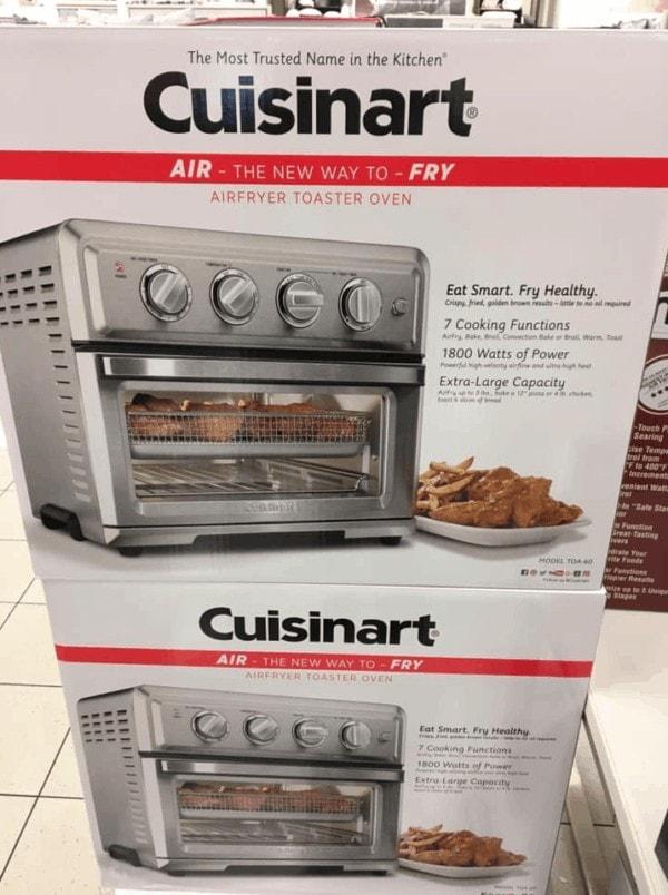 Kohl S Cuisinart Air Fryer Toaster Oven 50 Off