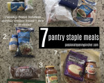 More Money In March Challenge Day 10 & 11 + New Video: Seven Staple Meals Menu Plan