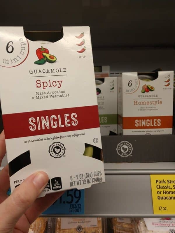 Single Guacamole