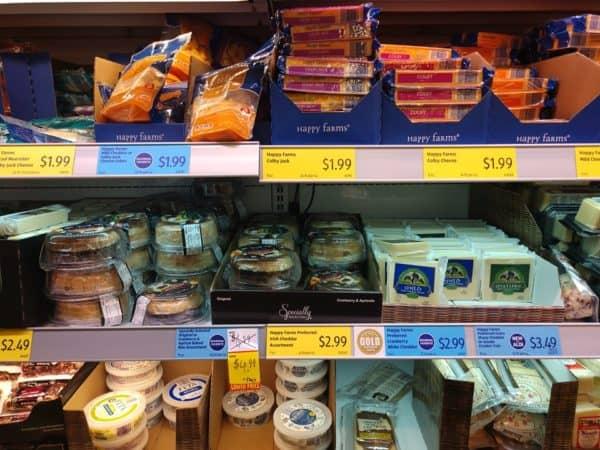 aldi specialty cheese