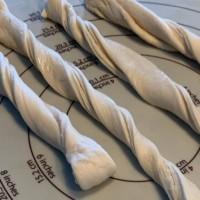 Frozen Bread Dough Garlic Twists