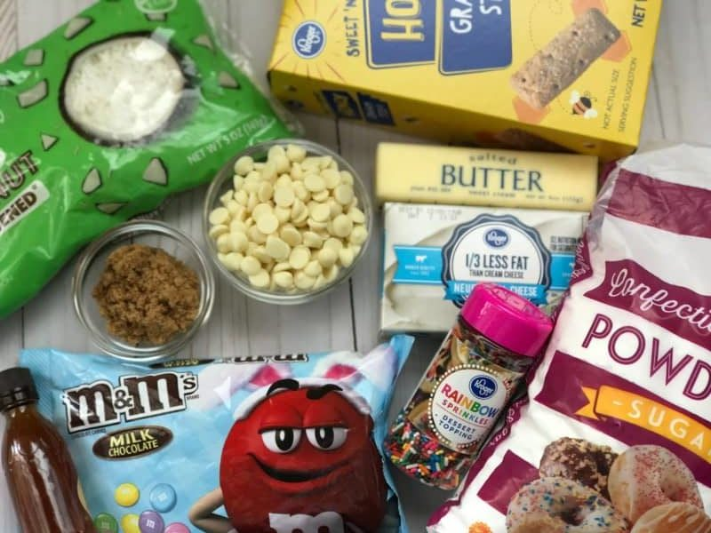 Easter Chocolate Chip Cheese Ball Ingredients