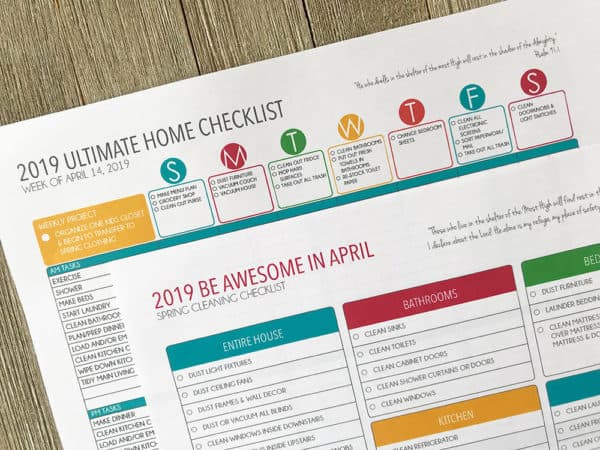 spring-cleaning-home-checklist