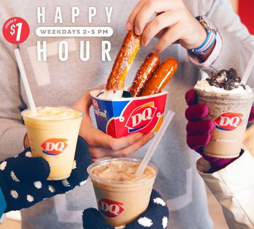 Dairy Queen Happy Hour