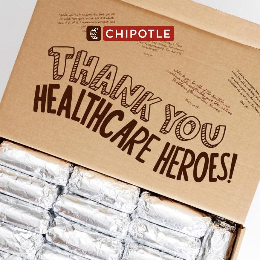 Chipotle Nurses Week Healthcare Appreciation